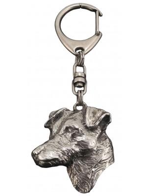 Jack Russel Terrier - keyring (silver plate) - 94