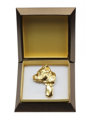 American Staffordshire Terrier - clip (gold plating) - 2588 - 28549