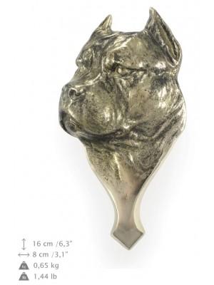 American Staffordshire Terrier - knocker (brass) - 312 - 7217