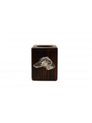 Azawakh - candlestick (wood) - 4015 - 37980