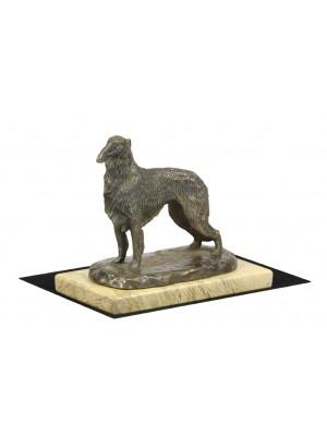 Barzoï Russian Wolfhound - figurine (bronze) - 4639 - 41622