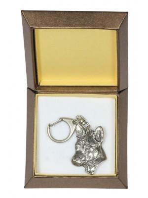 Basenji - keyring (silver plate) - 2795 - 29915