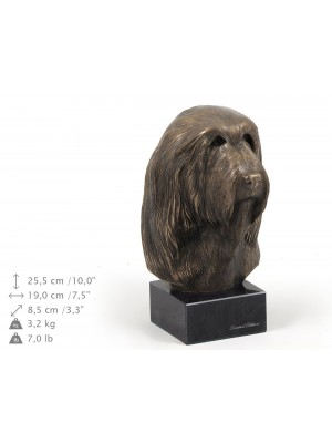 Bearded Collie - figurine (bronze) - 173 - 9106