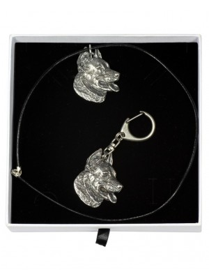 Beauceron - keyring (silver plate) - 1964 - 15109