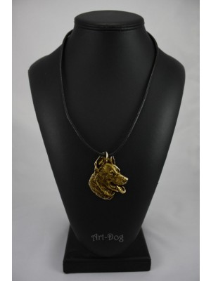 Beauceron - necklace (gold plating) - 935 - 4158