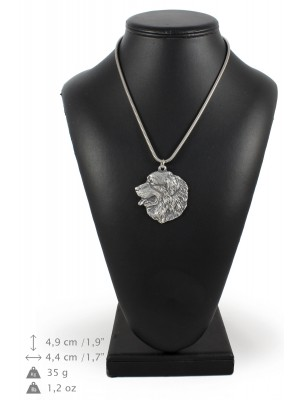 Bernese Mountain Dog - necklace (silver chain) - 3278 - 34265