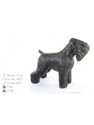 Black Russian Terrier - statue (resin) - 628 - 21604