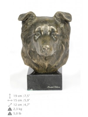 Border Collie - figurine (bronze) - 178 - 22086