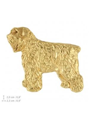 Bouvier des Flandres - pin (gold plating) - 2385 - 26153
