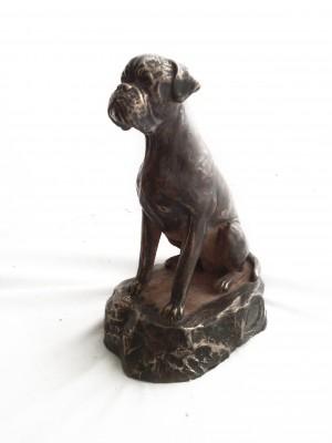 Boxer - figurine (bronze) - 1573 - 6896