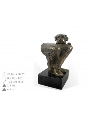 Boxer - figurine (bronze) - 1574 - 9193