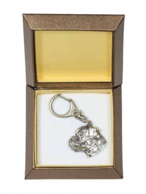 Boxer - keyring (silver plate) - 2745 - 29864