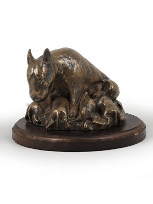 Bull Terrier - figurine (bronze) - 588 - 2660