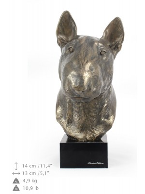 Bull Terrier - figurine (resin) - 672 - 7688