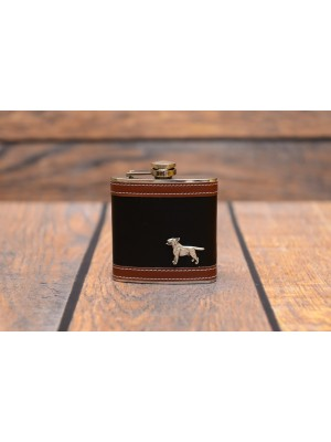 Bull Terrier - flask - 3538 - 35375