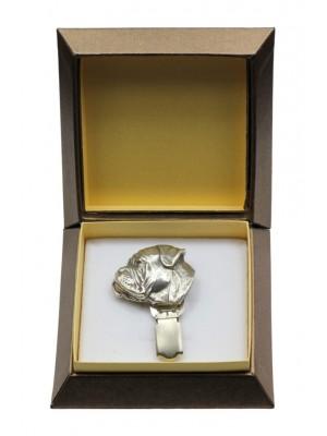 Bullmastiff - clip (silver plate) - 2536 - 28117