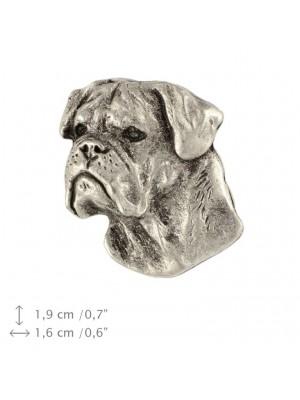 Bullmastiff - pin (silver plate) - 452 - 25907