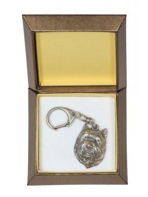Cairn Terrier - keyring (silver plate) - 2801 - 29921