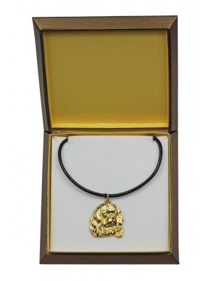 Cavalier King Charles Spaniel - necklace (gold plating) - 2496 - 27655