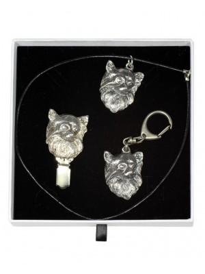 Chihuahua - keyring (silver plate) - 2071 - 17839