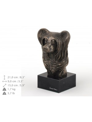Chinese Crested - figurine (bronze) - 199 - 9126