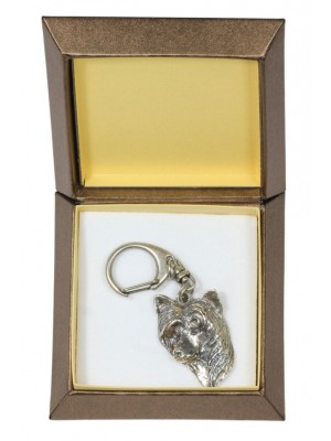 Chinese Crested - keyring (silver plate) - 2747 - 29866