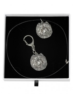 Chow Chow - keyring (silver plate) - 1936 - 14438
