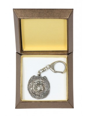 Chow Chow - keyring (silver plate) - 2723 - 29842
