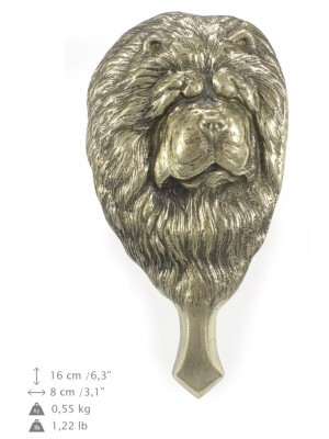 Chow Chow - knocker (brass) - 328 - 7287