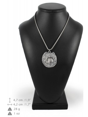 Chow Chow - necklace (silver chain) - 3271 - 34217