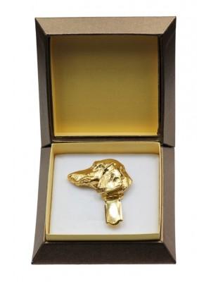 Dachshund - clip (gold plating) - 2605 - 28566