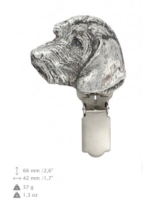 Dachshund - clip (silver plate) - 15 - 26200