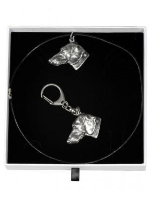 Dachshund - keyring (silver plate) - 1953 - 14832
