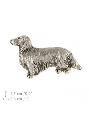 Dachshund - pin (silver plate) - 1539 - 26054