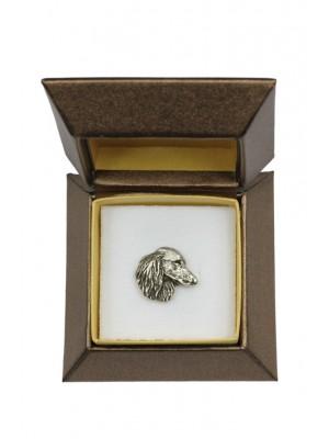 Dachshund - pin (silver plate) - 2682 - 28964