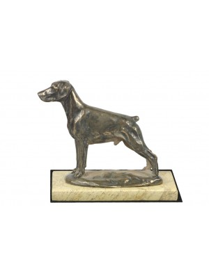Doberman pincher - figurine (bronze) - 4653 - 41692