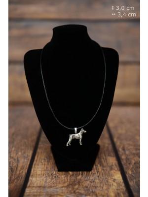 Doberman pincher - necklace (strap) - 3859 - 37244
