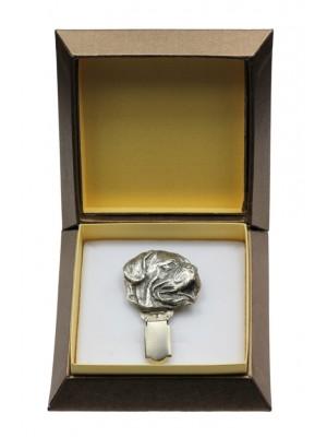 Dog de Bordeaux - clip (silver plate) - 2551 - 28132