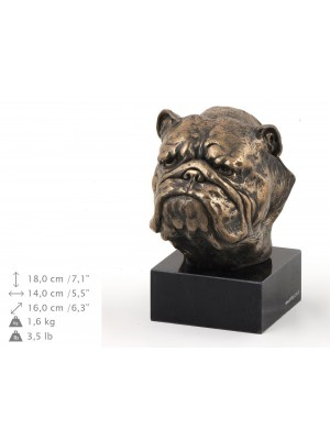 English Bulldog - figurine (bronze) - 211 - 9138
