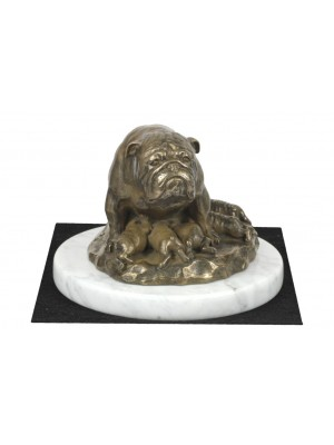 English Bulldog - figurine (bronze) - 4603 - 41431