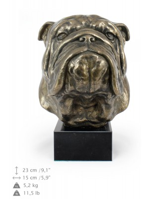 English Bulldog - figurine (resin) - 141 - 7664