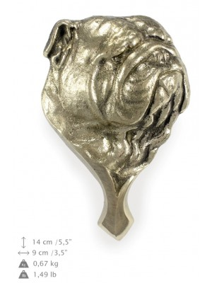 English Bulldog - knocker (brass) - 323 - 7264