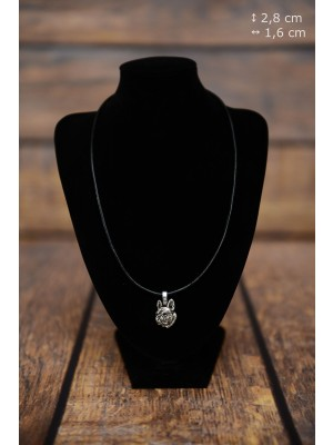 French Bulldog - necklace (strap) - 3871 - 37280
