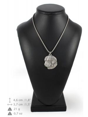 Golden Retriever - necklace (silver cord) - 3148 - 32966