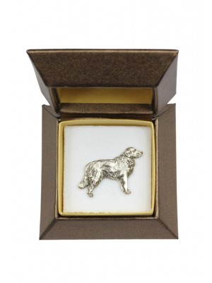 Golden Retriever - pin (silver plate) - 2648 - 28930