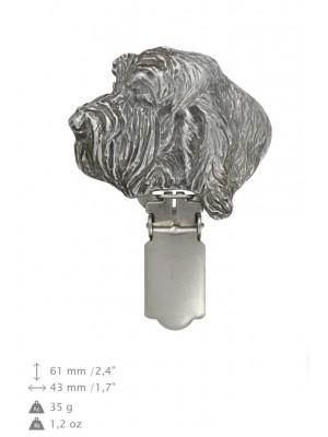 Grand Basset Griffon Vendéen - clip (silver plate) - 697 - 26525