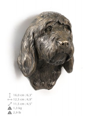 Grand Basset Griffon Vendéen - figurine (bronze) - 542 - 9896