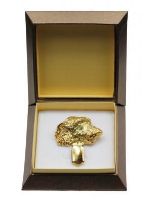 Irish Wolfhound - clip (gold plating) - 2602 - 28563