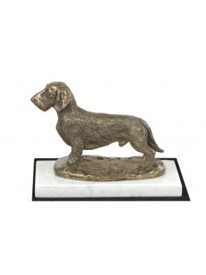 Jamnik Szorstkowłosy - figurine (bronze) - 4608 - 41456