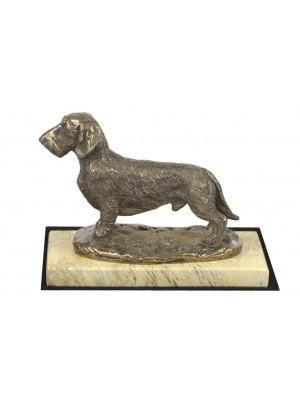 Jamnik Szorstkowłosy - figurine (bronze) - 4651 - 41682